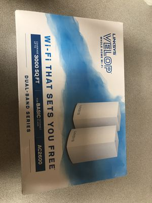 Linksys Velop mesh router for Sale in Olympia, WA