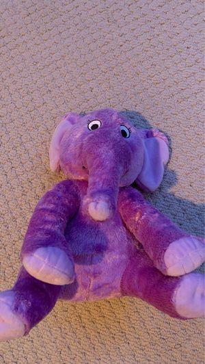 Purple Elephant Stuffed Animal for Sale in Las Vegas, NV