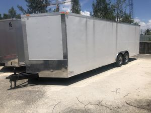 Enclosed Cargo Trailer 8.5-24' Or 20' for Sale in Southwest Ranches, FL