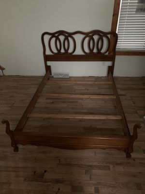Queen Bed Frame / good condition for Sale in New Castle, PA