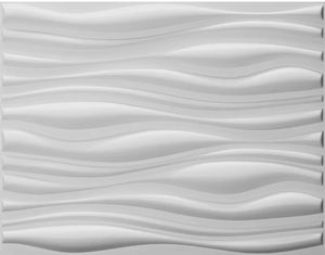 """Art3d Paintable 3D Wall Panels Home Decor, 19-5/8"""" X 19-5/8"""" White, 6 Tiles for Sale in Orlando, FL"""