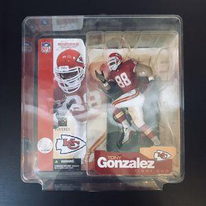 2002 Tony Gonzalez KC Kansas City Chiefs NFL Football McFarlane Action Figure Series 5 - BRAND NEW! for Sale in Citrus Heights, CA