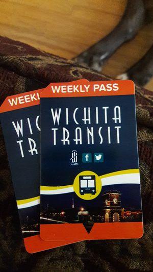 7Day Bus Passes for Sale in Wichita, KS