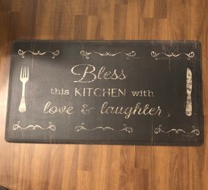 "Anti Fatigue Kitchen or Entry Floor Mat. Great for while cooking or doing dishes. 36""x20"" for Sale in Fort Myers, FL"