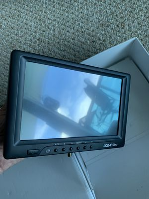 """7"""" HD LCD MONITOR for Sale in North Bay Village, FL"""