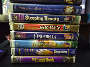 Disney VHS tapes for Sale in Houston, TX