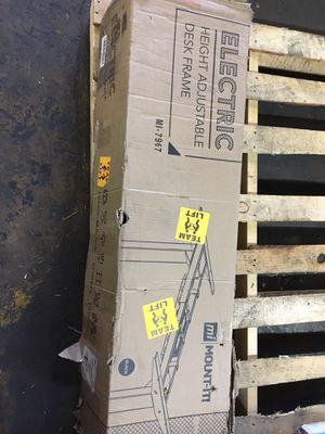 Electric Height Adjustable Desk Frame (Black) el for Sale in Huntington Park, CA