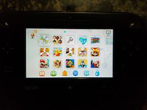 Modded Nintendo Wii U 32GB Black for Sale in Phoenix, AZ