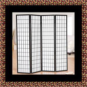 4 panel room divider for Sale in Hyattsville, MD