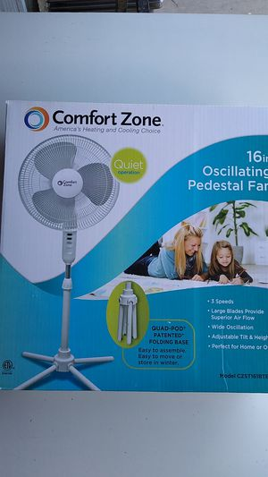 "16"" 3-SPEED OSCILATING PEDESTAL FAN for Sale in City of Industry, CA"