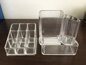 Clear Vanity Makeup Organizers for Sale in Washington Township, NJ