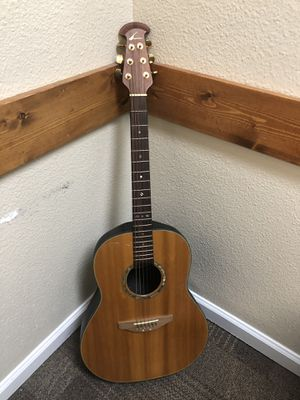 Beautiful Ovation Acoustic Guitar. for Sale in Hayward, CA