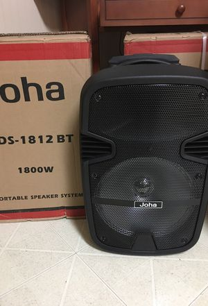 Amplified speaker system 1800W for Sale in Durham, NC