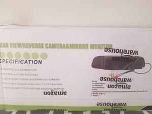 Emmako Backup Camera Wireless and 4.3 Mirror Monitor Kit for Sale in Richmond, VA