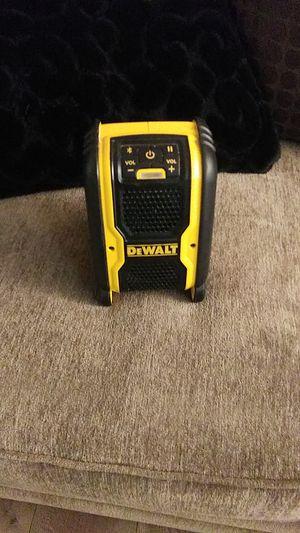 DeWalt speaker for Sale in San Antonio, TX