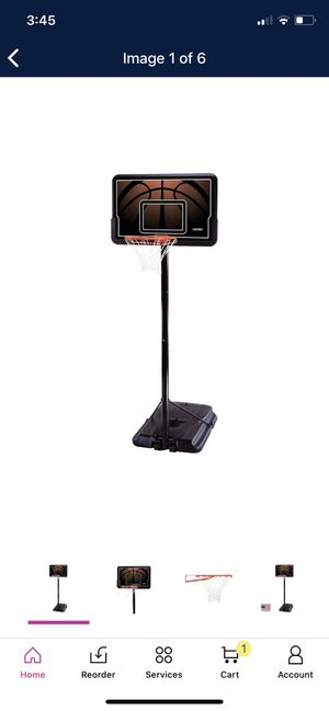 Lifetime 44 in. Adjustable Portable Basketball Hoop for Sale in Phoenix, AZ