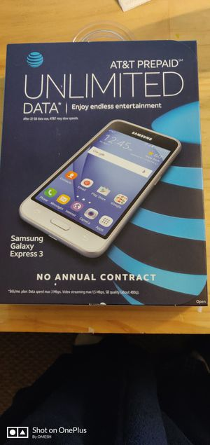 Samsung galaxy express 3 for Sale in Woodbridge, VA