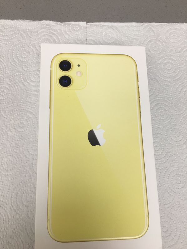 Phone 11 de 64 GB en caja de Sprint