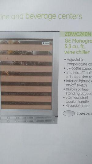 Monogram wine center Refrigerator for Sale in Tacoma, WA