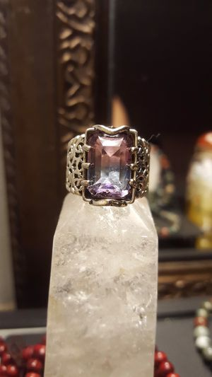 ANTIQUE size 6 rainbow tourmaline 925 ⭐️⭐️⭐️⭐️⭐️ for Sale in Los Angeles, CA