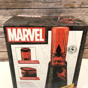 Marvel Comics Spider Man Personal Blender w/25 oz. Tritan bottle. On-the-go for Sale in Owings Mills, MD