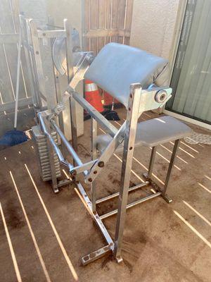 Preacher curl machine for Sale in Abilene, TX