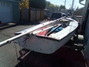 Sailboat gear and trailer for Sale in Everett, WA