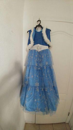 Elsa frozen dress size 10 girls for Sale in Henderson, NV