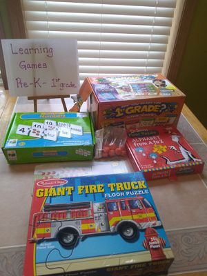 Learning Games for Sale in Enumclaw, WA