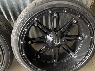24 Deep Dish Fuel Wheels. Universal 6 Lug CHEVY/FORD for Sale in Renton,  WA