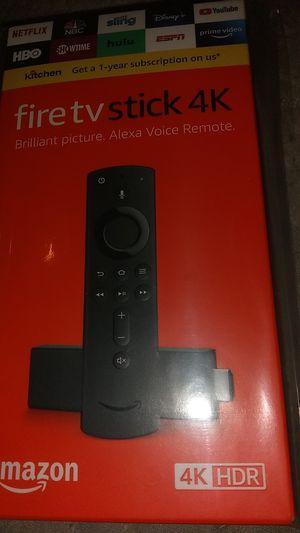BRAND NEW Amazon Fire TV Stick 4K w/Alexa Voice Remote -Latest Version for Sale in Atlanta, GA