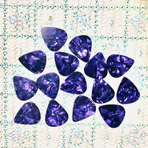 15 New PURPLE Pearl Shell Color Guitar Picks Medium 0.71mm Thick, Keyboards: Fender, Bass, Acoustic, Effects for Sale in Claremont, CA