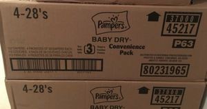 Pampers Size 3 for Sale in White Plains, MD