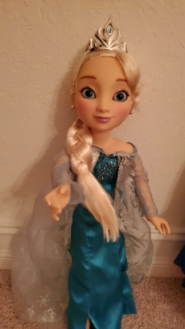 "18"" Rare Anna, Elsa and Cinderella Dolls"