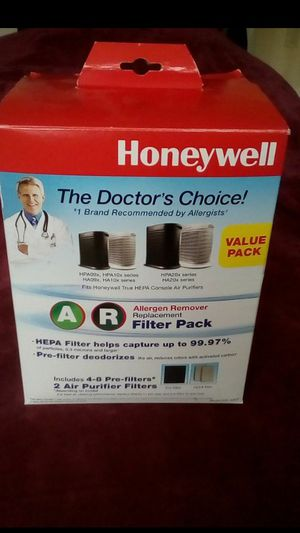 Honeywell air purifier filter pack. HEPA filters for Sale in NEW PRT RCHY, FL