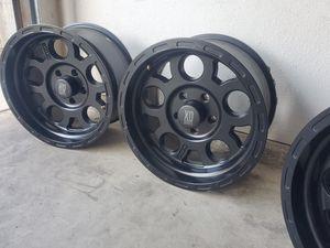 """5 black rims xd series 17"""" for Sale in Fresno, CA"""