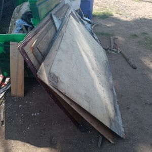 FREE FREE FRE3..Tractor Trailer Tires And A Few Pieces Of Quarter Inch Plywood for Sale in Highland, CA