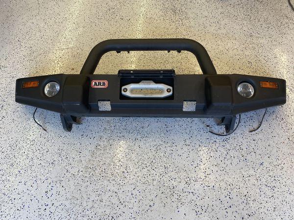 ARB front bumper for Jeep JK