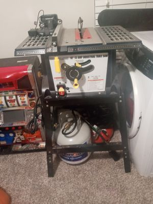 Chicago electric industrial 10' 13 amp table saw for Sale in Dallas, TX