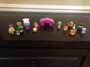 Shopkins, 18 pieces in great condition for Sale in Everett, WA