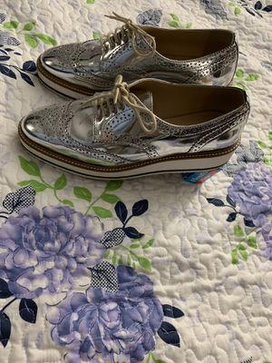 Zara Platform Platinum Women's Shoes US Size 9/ (or 40) for Sale for sale  Queens, NY