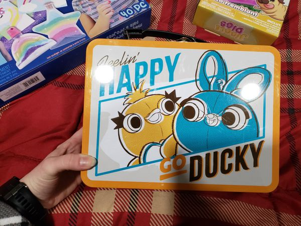 Sand Art. Jiggly Digs. Happy Go Lucky Lunch Box