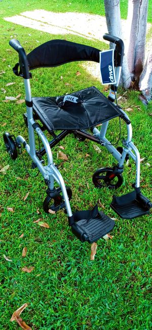 """Wheelchair/ Walker.. Transport chair.. 18"""" for Sale in Buena Park, CA"""