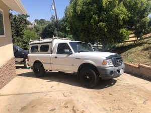 2011 Ford Ranger 87k miles clean utilities shell for Sale in Vista, CA
