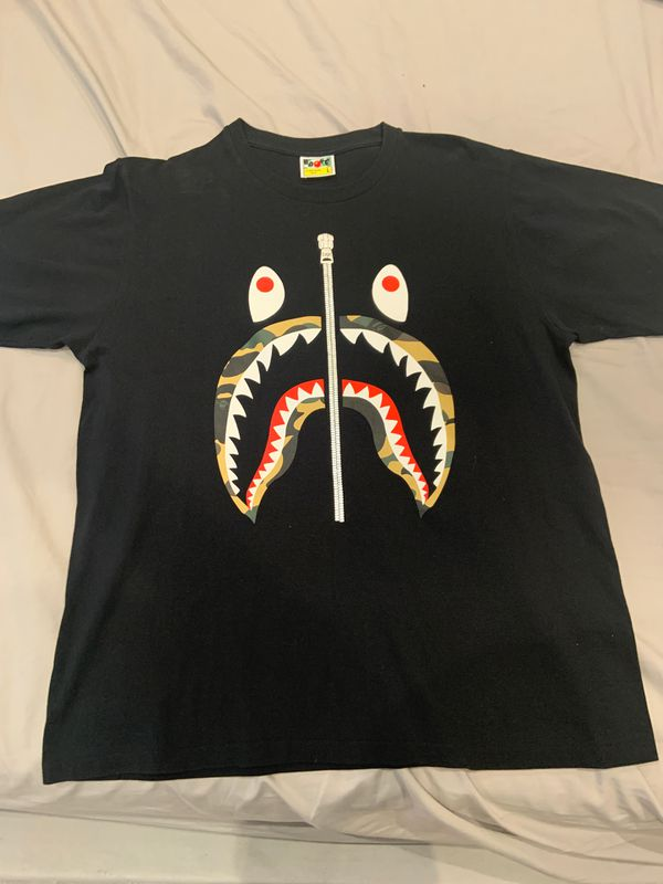 BAPE SHARK TEE