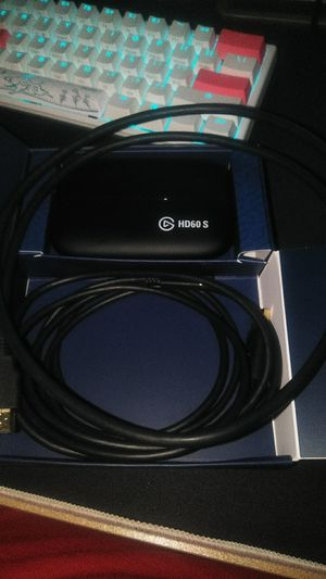 Elgato hd60 s for 55 for Sale in Lacey, WA