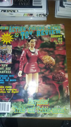 1997 Lee's toy figure review magazine issue 58 star trek marvel spawn star wars for Sale in Surprise, AZ
