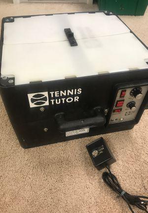 Tennis Tutor Model 2 Tennis Ball Machine-Works for Sale in Rockville, MD