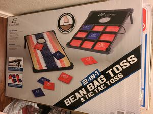 Bean bag toss & tic tac toss for Sale in Dallas, TX