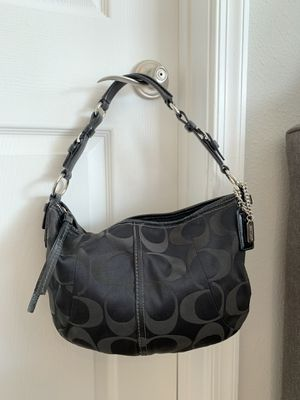 Authentic Coach Signature Sateen Hobo Bag for Sale in Annapolis, MD